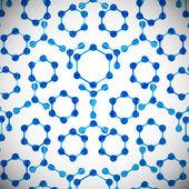 Molekülstruktur, abstrakt — Stockvektor