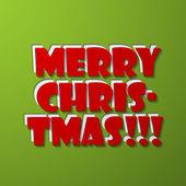 Merry Christmas — Stock vektor