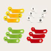 Modern design infographics — Stock Vector