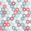 Winter background of snowflakes — Stock Vector #36269999