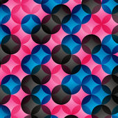 Geometric background — Stockvektor