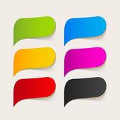 Tekstballon — Stockvector