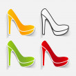 Realistic design element: shoe — Stock Vector #40237433