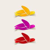 Realistic design element: sea ??turtle — Stockvektor