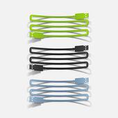Realistic design element: usb-cable — Stock Vector