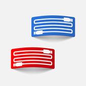 Realistic design element: usb-plug — Stock Vector
