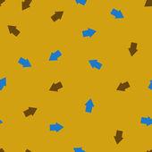 Seamless background: arrow geometry — Stock Vector