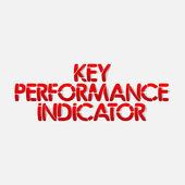 Realistic design element: key performance indicator — Stock Vector