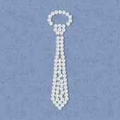 Pills concept: tie, fashion — Vettoriale Stock
