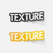 Realistic design element: texture — Stock Vector
