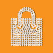 Pills concept: shopping, bag, package — Vetorial Stock