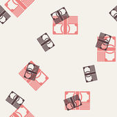 Seamless background, money — Stock Vector