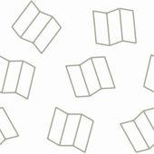 Seamless background: geometric — Stock Vector