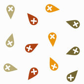 Seamless background: navigator — Stock Vector