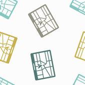Sfondo trasparente: navigatore — Vettoriale Stock