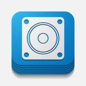 方形按钮: 动态 — 图库矢量图片