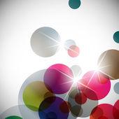 抽象的な背景: 球 — ストックベクタ