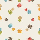 Seamless background: brick — Stock Vector