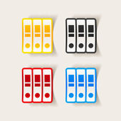 Design element: folder — 图库矢量图片