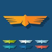 Flat design: bird — Stock Vector