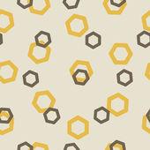 Seamless background: polygon — Stock Vector