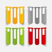 Realistic design element: tube — Stock Vector