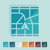 Version plate : navigator — Vecteur