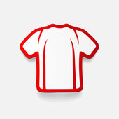 Realistic design element: shirt — Stock Vector
