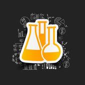 Desenho de fórmulas de negócios: tubo — Vetorial Stock