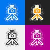 Photo business formulas — Stock Vector
