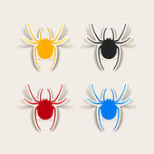 Design element: spider — Stock Vector