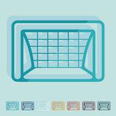 Gate icon — Stock Vector