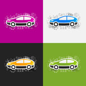 Car business formulas — Stock Vector