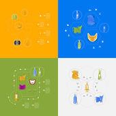 Veterinary icons — Vecteur