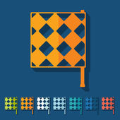 Linesman flag — Stock Vector