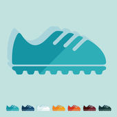 Sneaker icon — Stock Vector