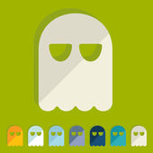 Ghost icons — Stockvector