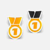 Medal design element — Stock Vector
