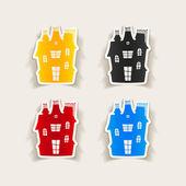 House design element — Stock Vector
