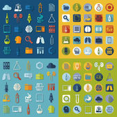 Medical flat icons — Stockvektor