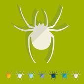 Spider icon — Stock Vector
