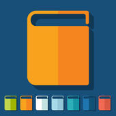 Icono de libro — Vector de stock