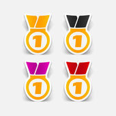 Medal design element — Stok Vektör