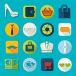 Set of fashion icons — Stock Photo #50090563