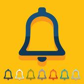 Flat design: bell — Photo