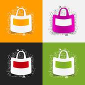 Drawing medical formulas: bag — Stock Photo