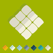 Plano de projeto: ketupat — Fotografia Stock