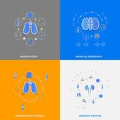 Set van medische pictogrammen — Stockfoto