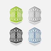 Realistic design element: lantern — Stock Photo