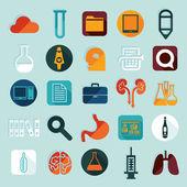 Medical labels set — Stock Vector